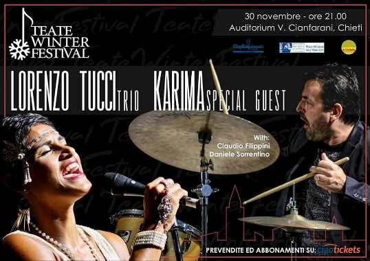 Lorenzo Tucci Trio special guest Karima