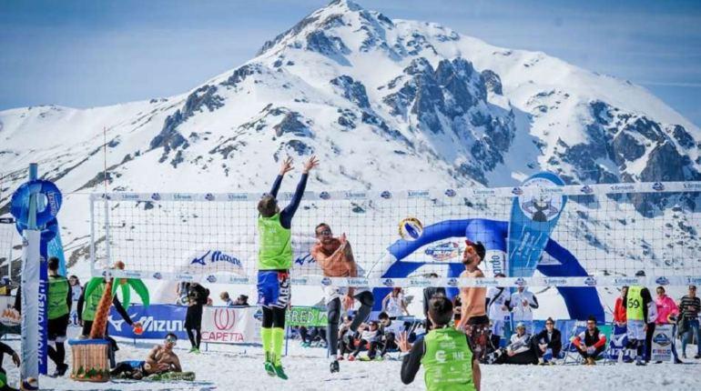 Snow Volley Italia foto