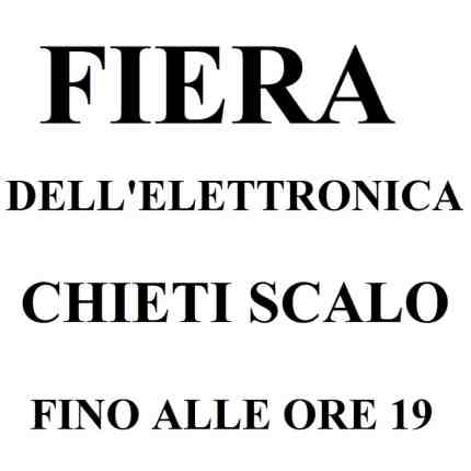 Fiera dell'elettronica Chieti Scalo