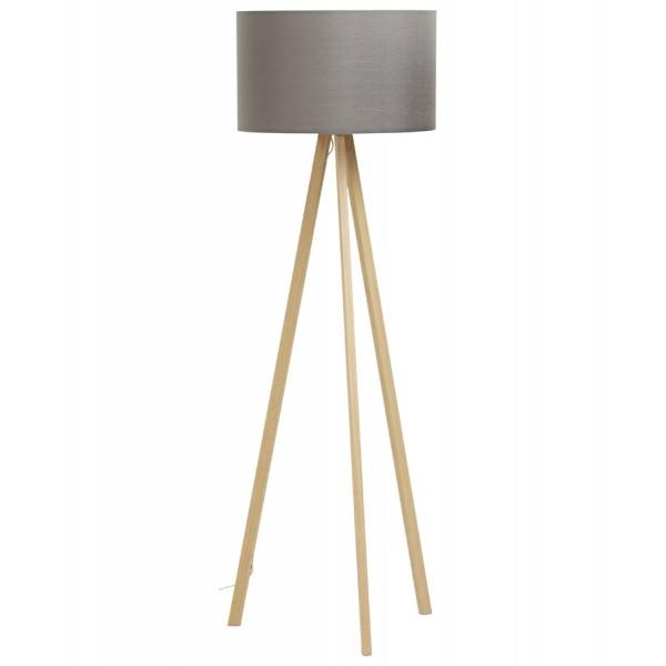 lampadaire design gris naturel style scandinave trivet