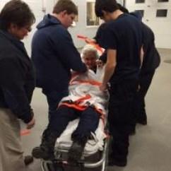 Ems Stair Chair French Script Call Scenarios Drill - Vista Fire Department