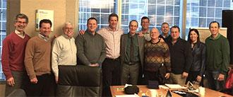 Mark Shapiro and Michael Allosso (center) with CE4067