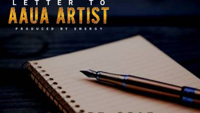 Photo of [New Jam] Blazzy Grin – Letter To Aaua Artistes