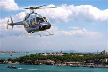 экскурсию на вертолете в Стамбуле