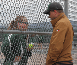 Coach Flanigan & Kendra Lavallee, 12 - #2 Singles