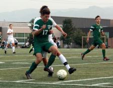 varsity soccer vs TR13