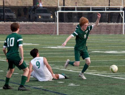 varsity soccer vs TR3