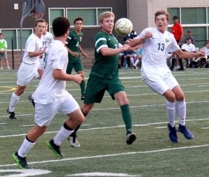 varsity soccer vs TR6