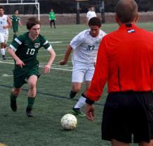 varsity soccer vs TR7