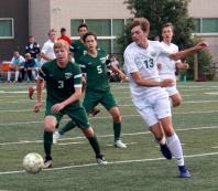 varsity soccer vs TR9