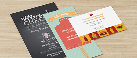Custom Party Invitations For Graduation Birthday Enement