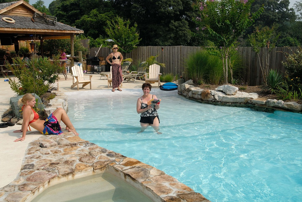 Pool  Spa Landscaping Design Annapolis  Baltimore MD