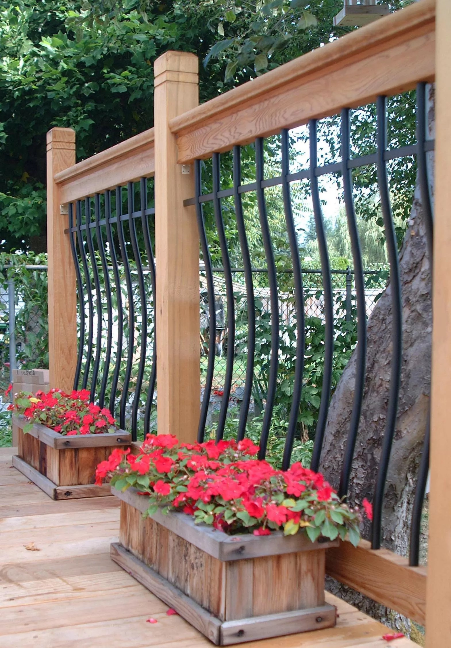 Deck Rail Planters