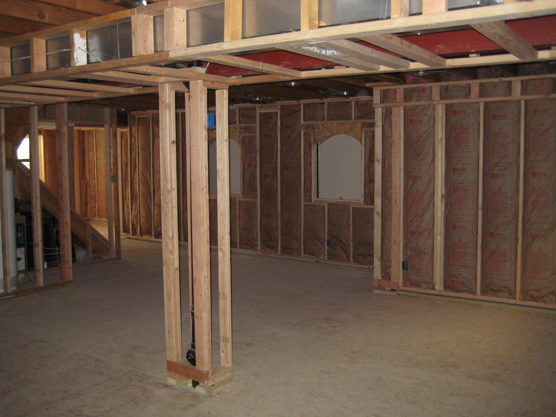Image Result For How To Insulate A Ba T Wall In An Unfinished Ba T
