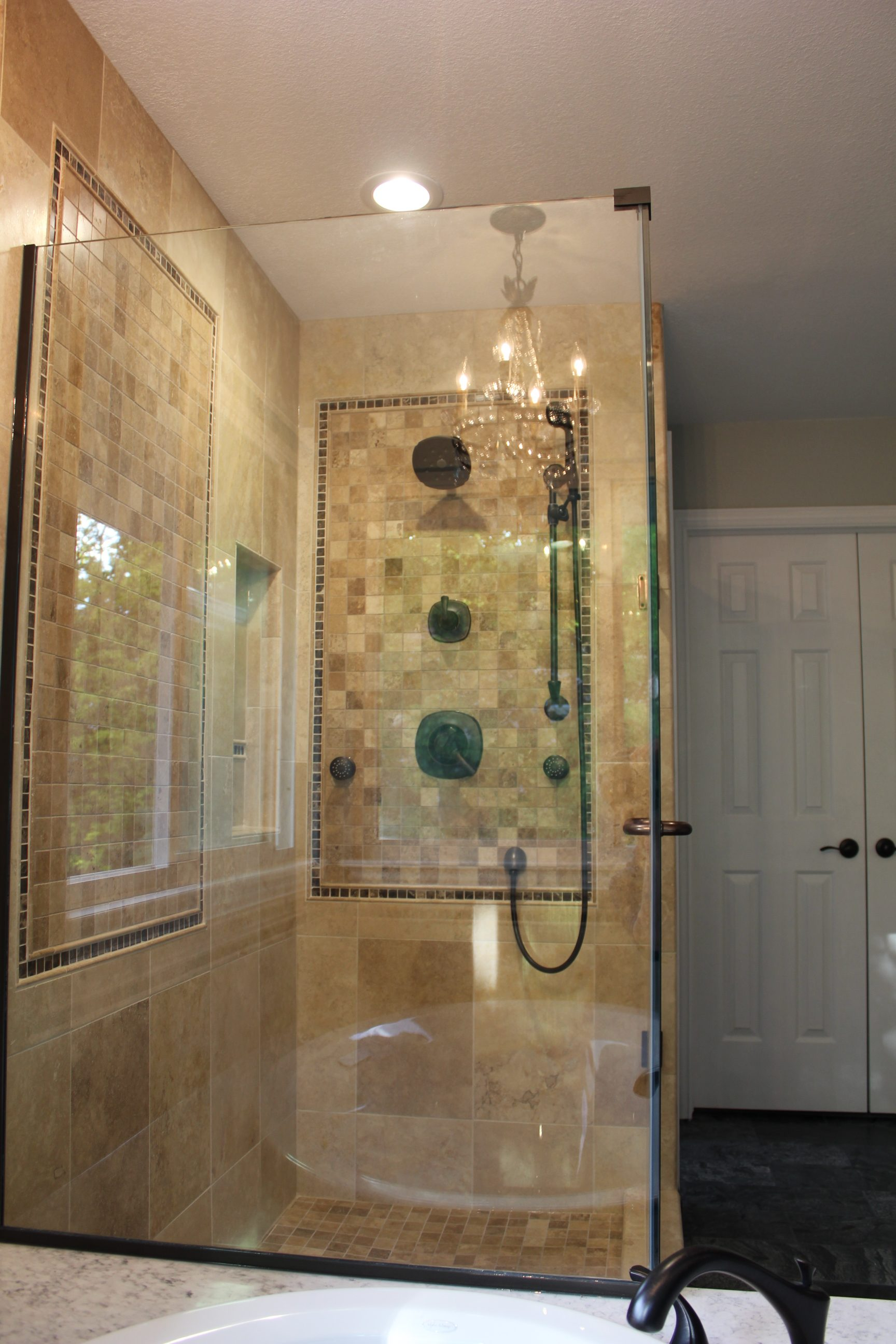 Elegant Master Bathroom Decor  Vista Remodeling