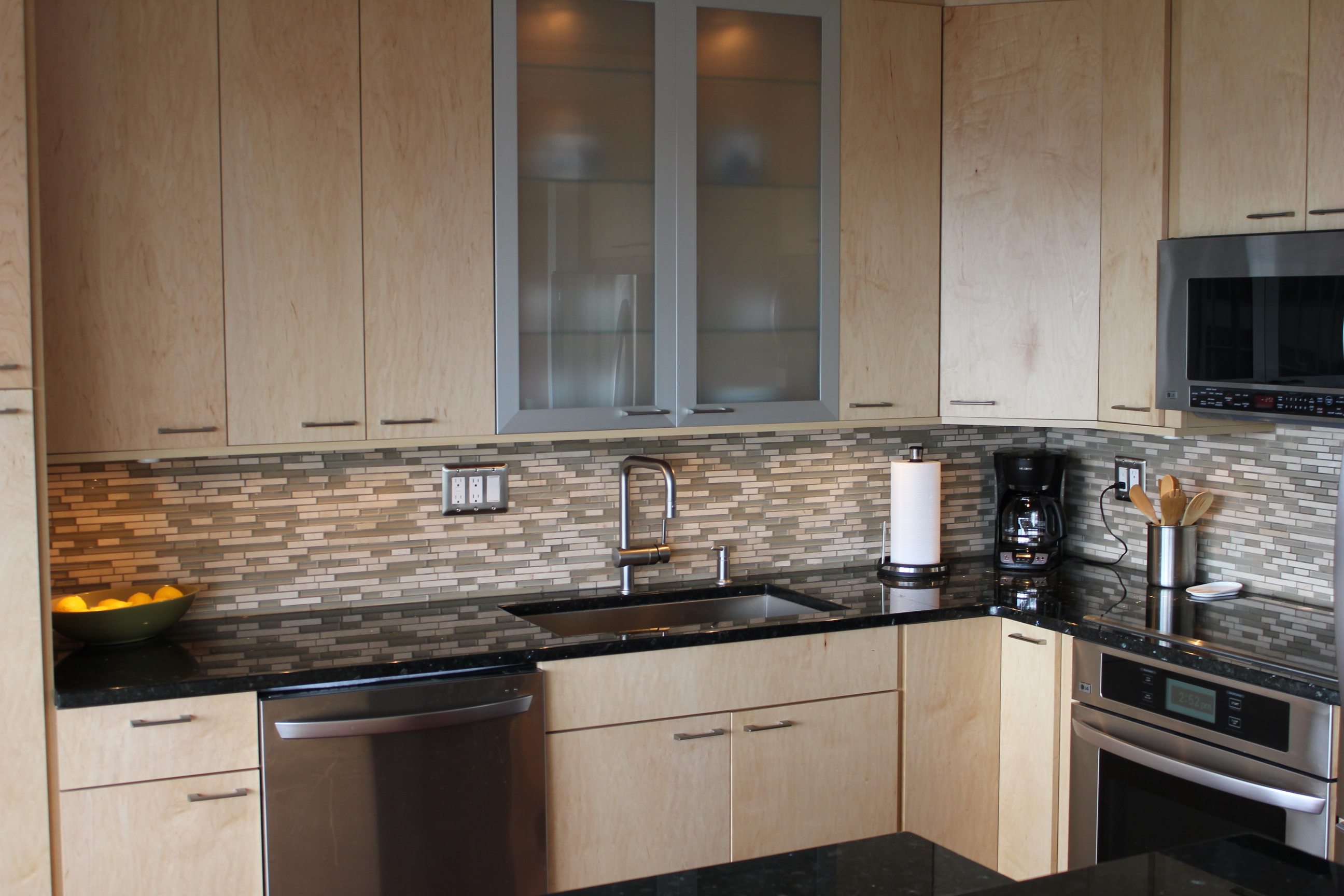Natural Maple Kitchen Denver  Vista Remodeling