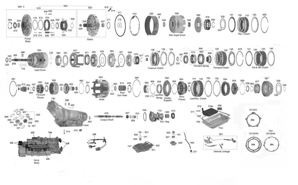 medium resolution of 4l60e clutch diagram