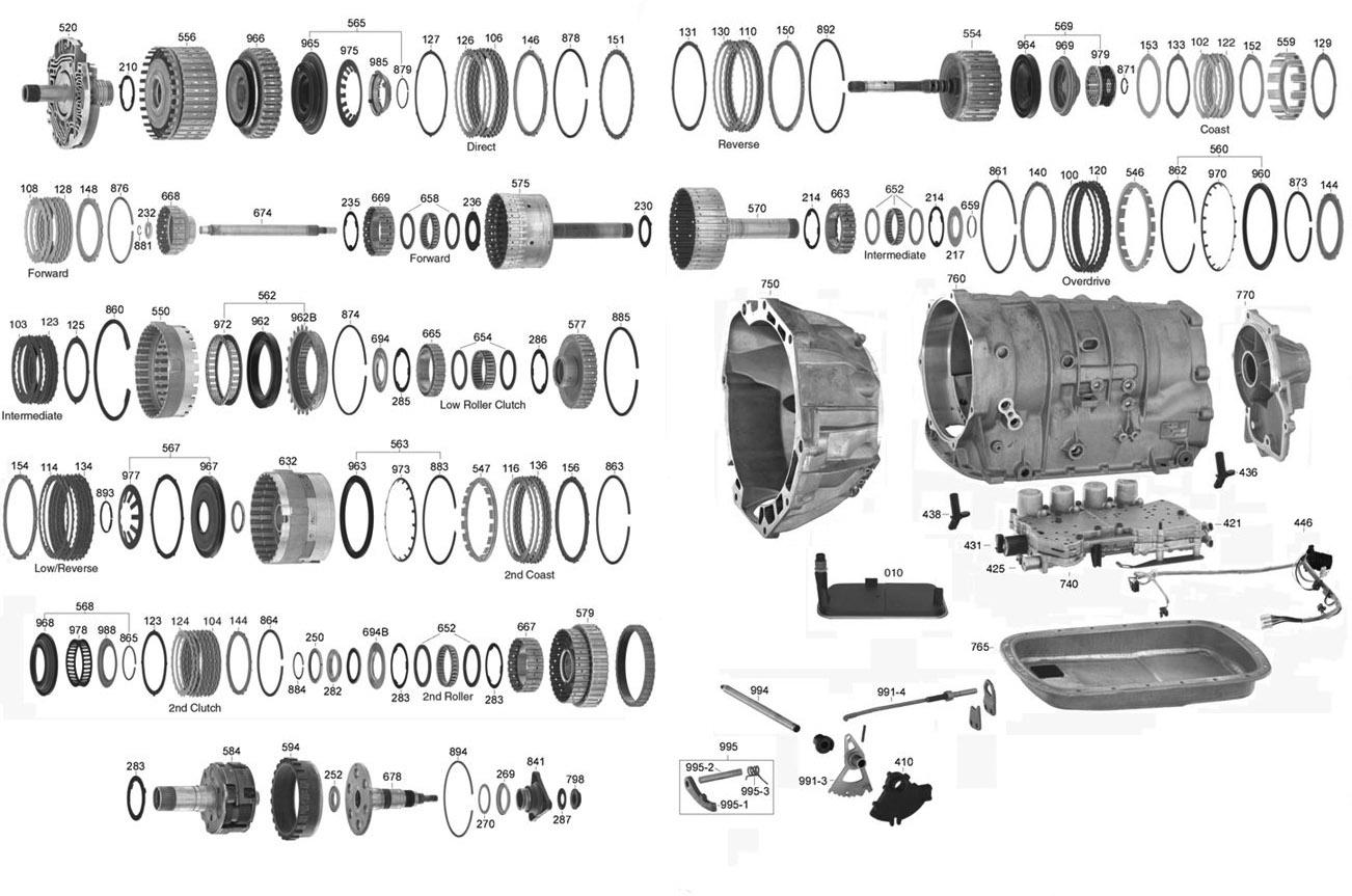 hight resolution of vista transmission parts 5l40e 5l40e automatic parts 4t60e transmission diagram 4t65e transmission diagram automatic parts