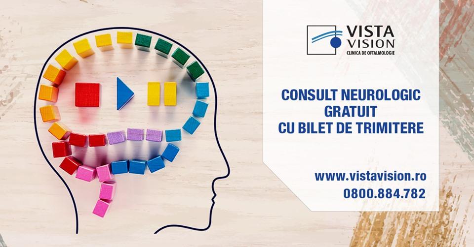 Consult neurologic gratuit cu bilet de trimitere