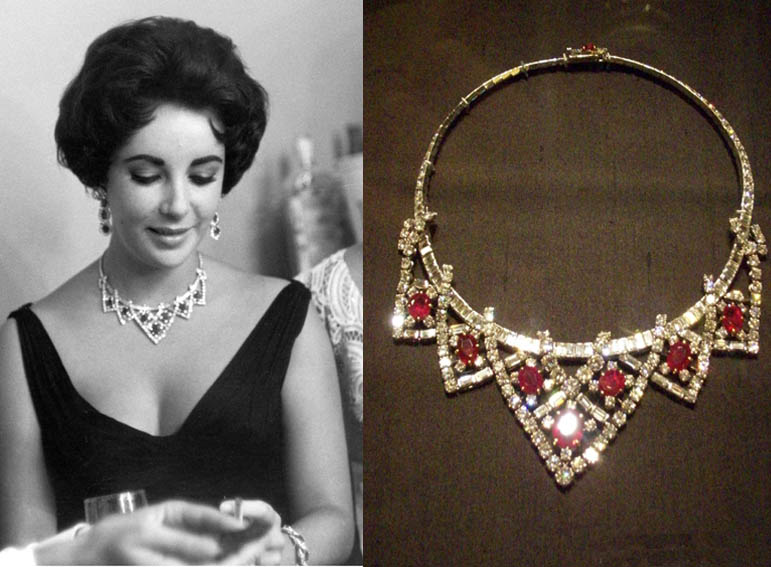 Las joyas de Elizabeth Taylor  Viste la Calle
