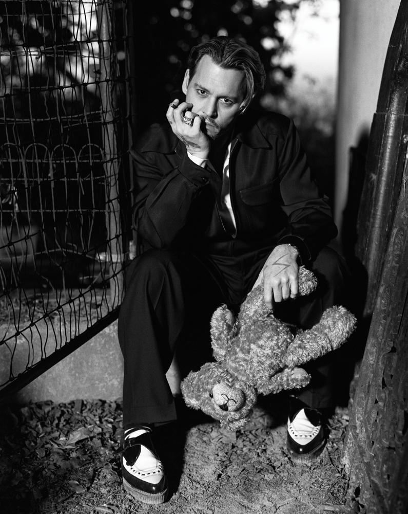 Johnny Depp X Bruce Weber Para Interview 2014 Viste La