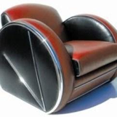 Art Deco Style Club Chairs Stool Chair Hong Kong Design Origins History Characteristics C 1930s