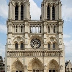 Cathedral Architecture Gothic Arches Diagram Wiring Plc Omron Cpm1a Notre Dame Paris 1163 1345