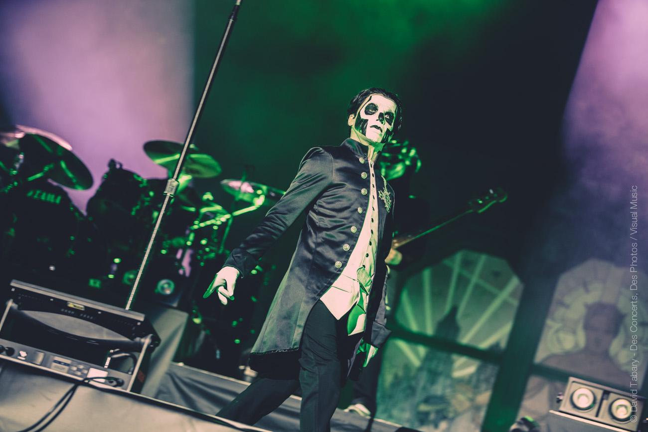 Ghost, Download Festival Paris, 10 juin 2016