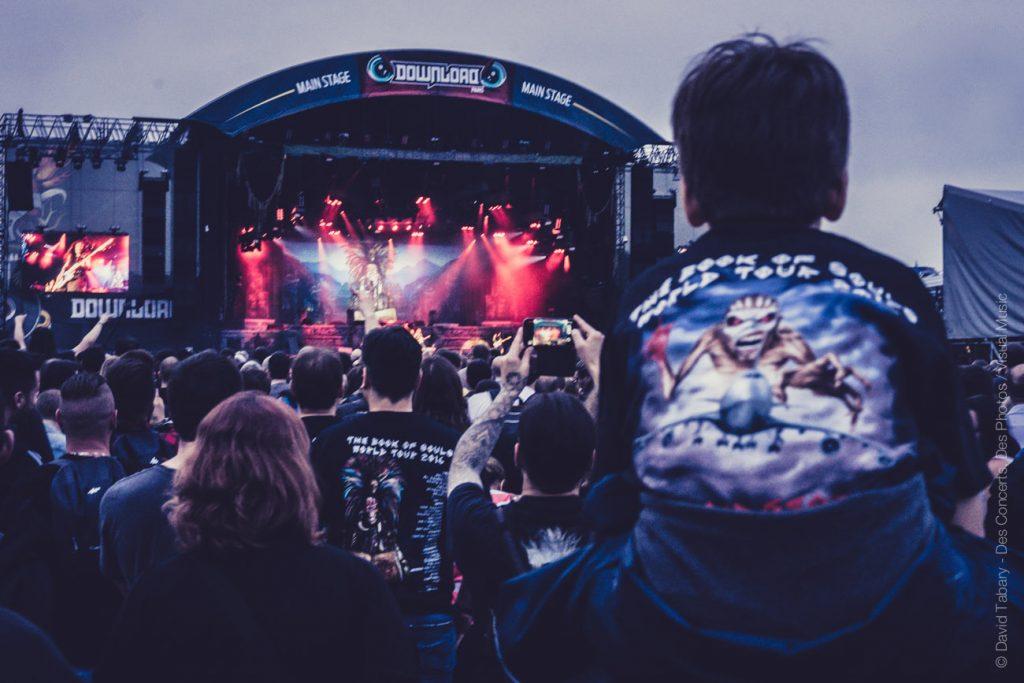 Iron Maiden, Download Festival Paris, 10 juin 2016