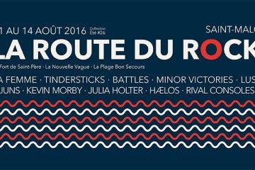 lineup route du rock 2016