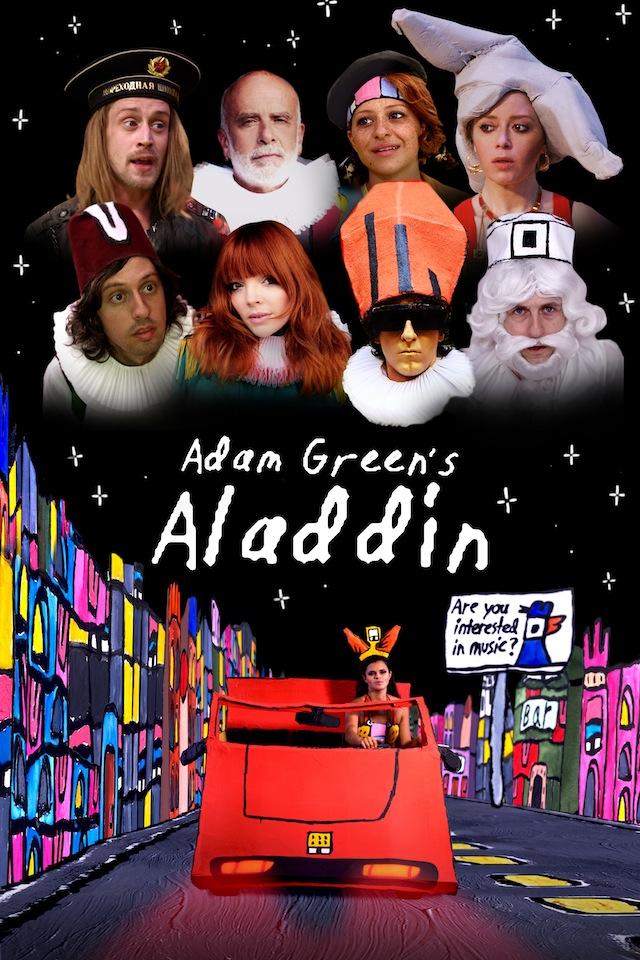 affiche adam green aladdin film