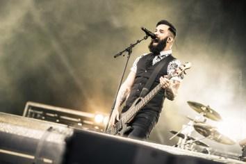 Skillet, Download Festival Paris, 12 juin 2016