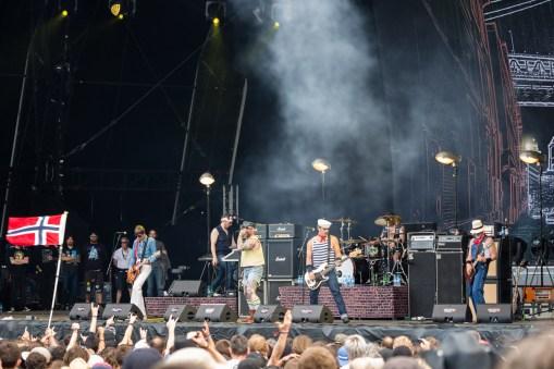 Turbonegro au Hellfest le 17 juin 2016