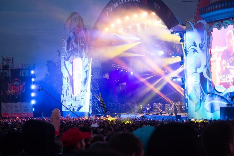 The Offspring en concert au Hellfest le 17 juin 2016
