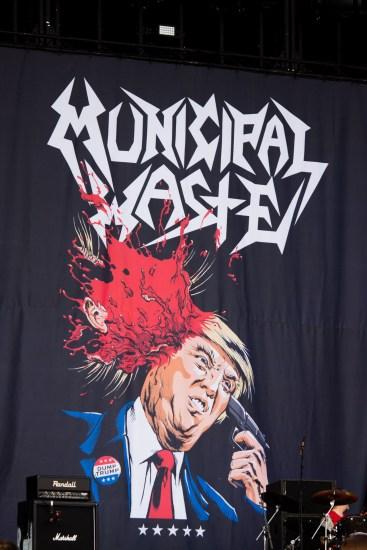 Municipal Waste au Hellfest le 19 juin 2016