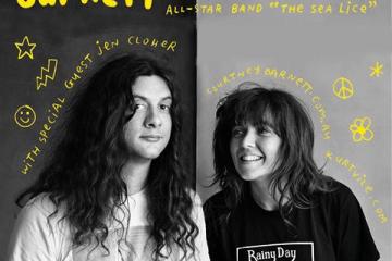 courtney barnett et kurt vile, the sea lice, en tournée américaine (affiche)