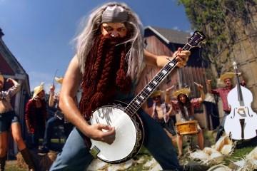 gojira the heaviest banjo of the universe