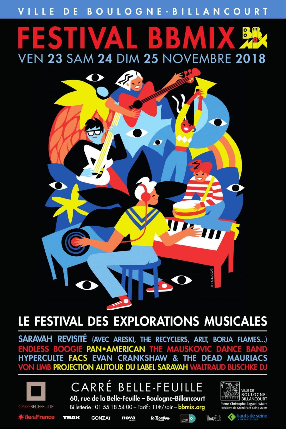 affiche festival bbmix 2018