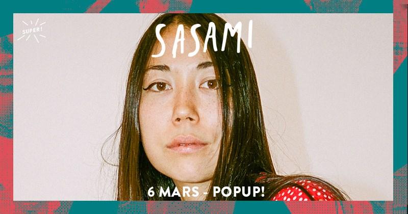 Gagnez 2 x 2 places pour Sasami au POPUP !