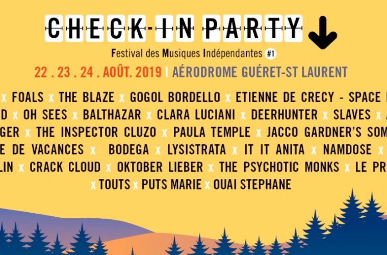 check in party festival 2019