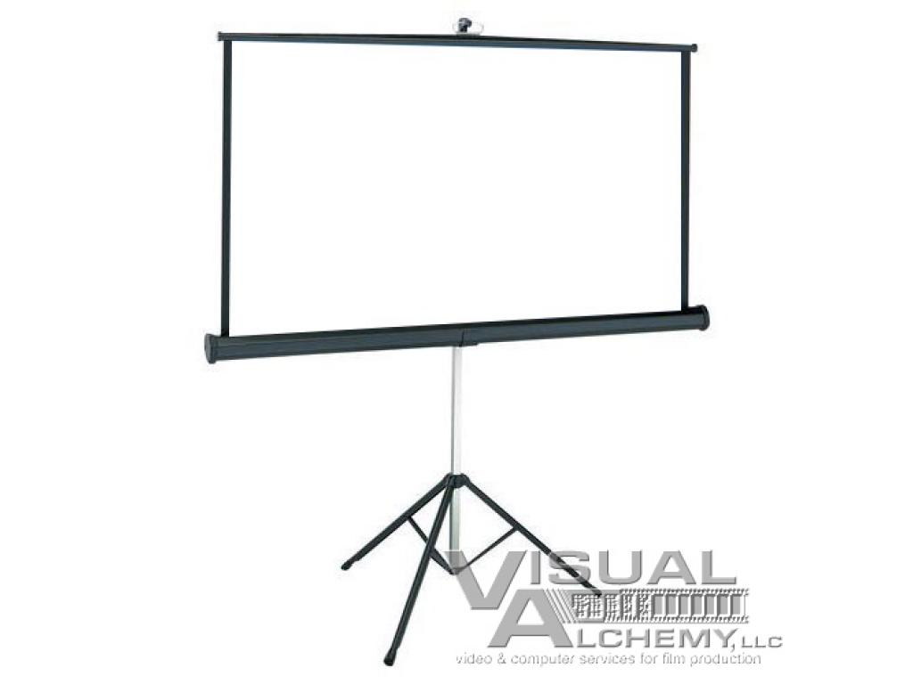 3' x 6' Projecta Tripod Projector Screen 4040 : Visual Alchemy