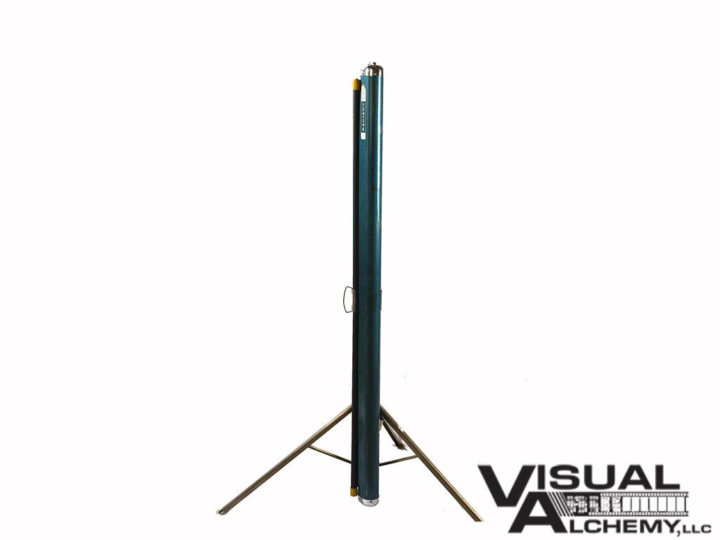 Radiant 3.5' x 4' Tripod Projector Screen 3163 : Visual