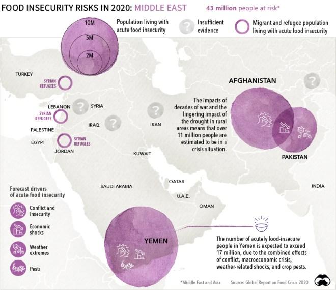 global food crisis 2020 middle east