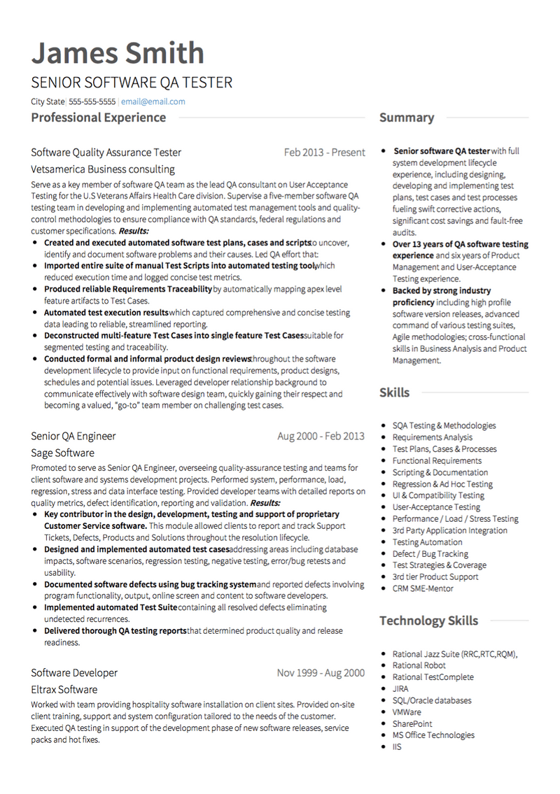 What is the best way to format your software engineer resume? Software Engineer Cv Examples Templates Download Visualcv