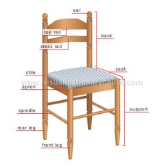 The Chair Fold Up Chairs House Furniture Side Parts Image Visual
