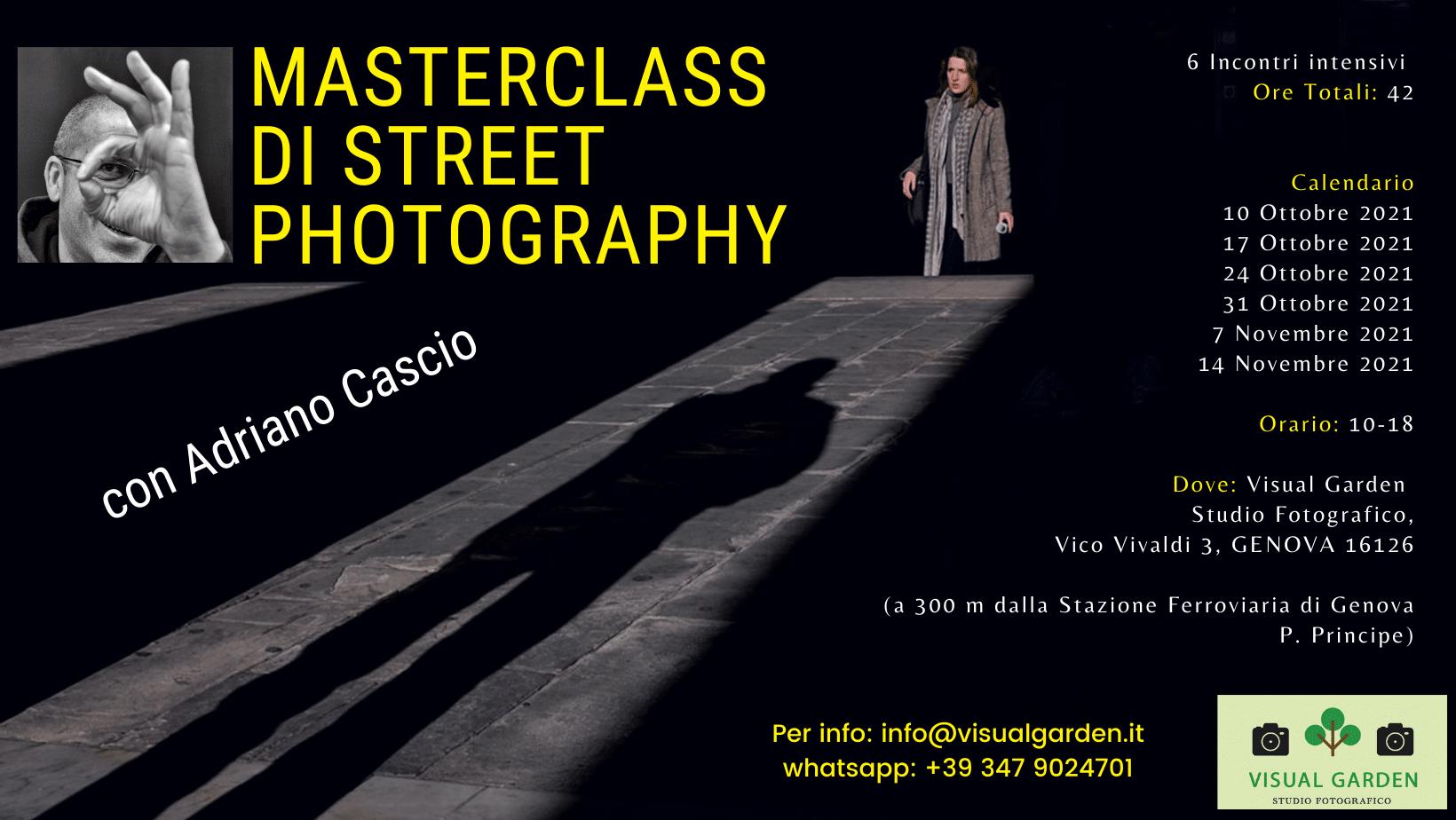 corso workshop street photography