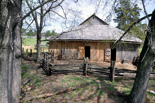 Stable, Booker T. Washington National Monument