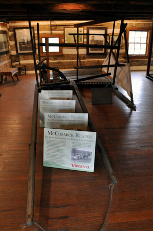 Reaper, Cyrus McCormick Farm and Workshop, Raphine, VA