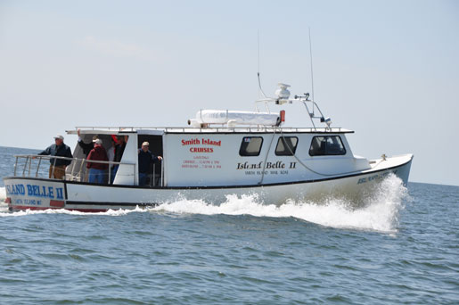 Boat that Brings Mail to Smith Island