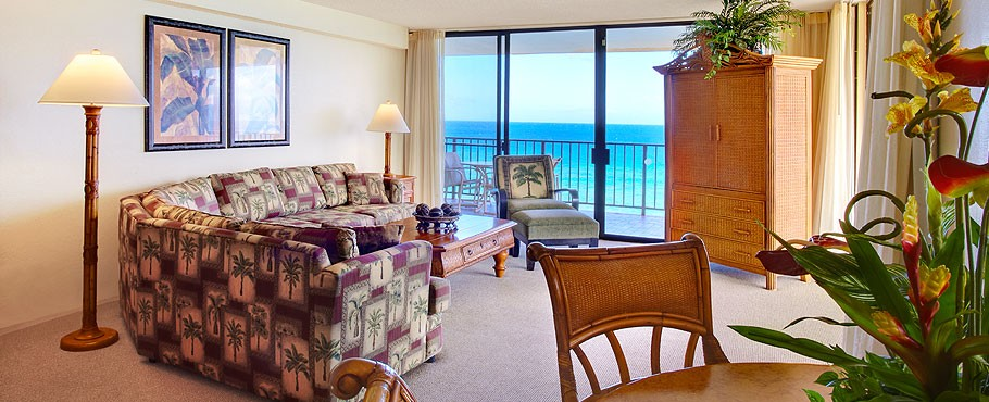 We booked a vacation through pleasant holidays. 2 Bedroom 2 Bath Oceanfront Aloha Suite From Photo Gallery For Aston Kaanapali Shores Maui United States Photo 34622 Visual Itineraries